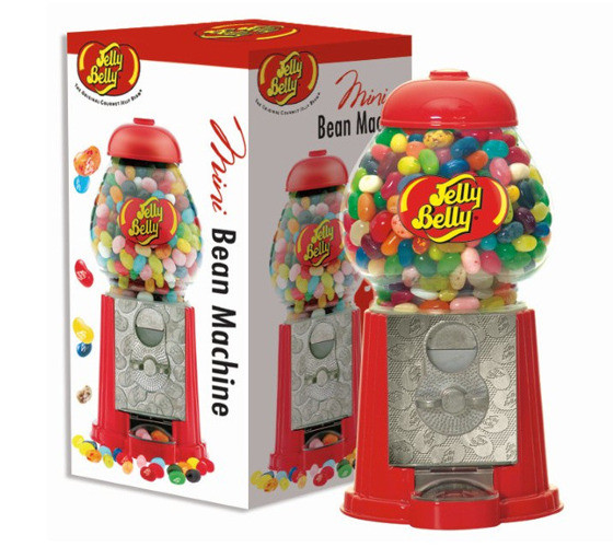 jelly belly mini bean machine jellybeans gums. Black Bedroom Furniture Sets. Home Design Ideas