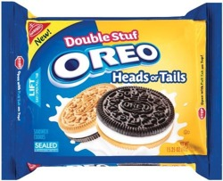 Oreo Heads Or Tails Double Stuff