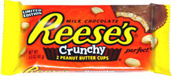 Reese's Crunchy Peanut Butter Cups Limited Edition