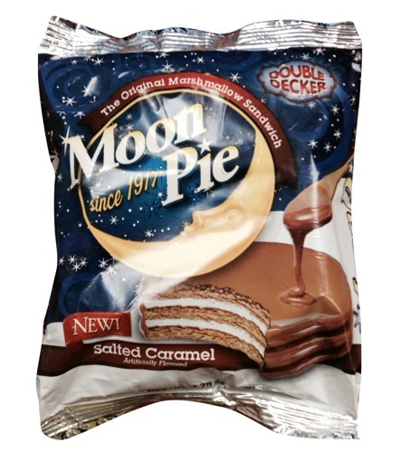 Salted Caramel Moon Pie