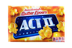 ACT II Butter Lover's Microwave Popcorn