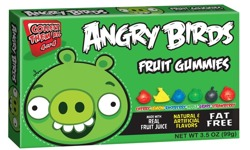 Angry Birds Fruit Gummies (Green Pig)
