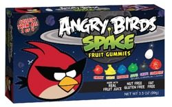 Angry Birds Space Fruit Gummies (Red Bird)