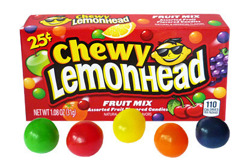 Fruit Mix Chewy Lemonhead and Friends