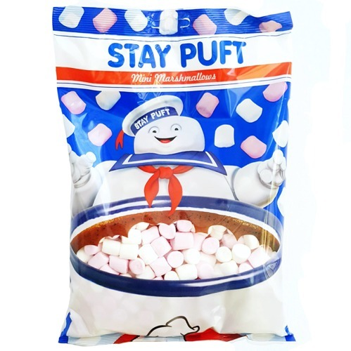 Ghostbusters Stay Puft Mini Marshmallows