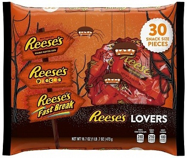 Reese's Lovers Halloween Mix (30pcs)