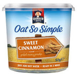 Quaker Oat So Simple Pots - Sweet Cinnamon