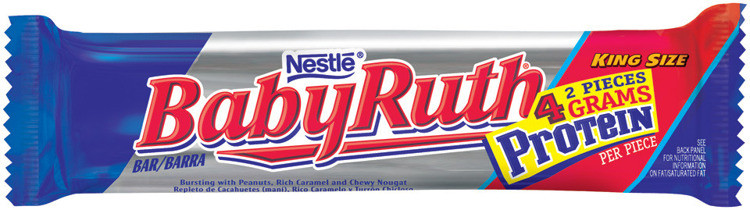 Baby Ruth King Size   Bars