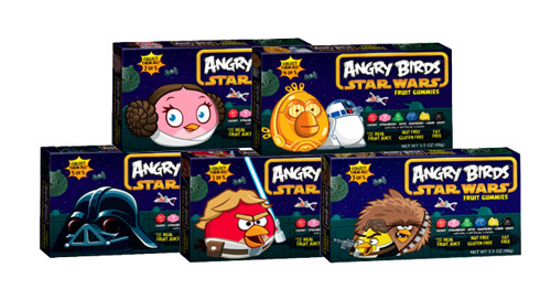 Angry Birds Star Wars Gummies