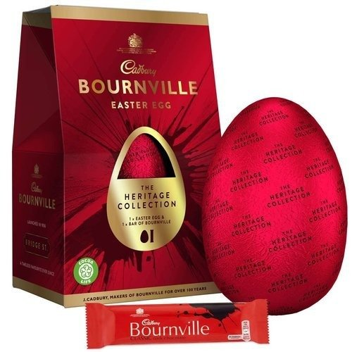 Cadbury Bournville Easter Egg with Chocolate Bar 155g
