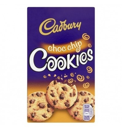 Cadbury Choc Chip Cookies