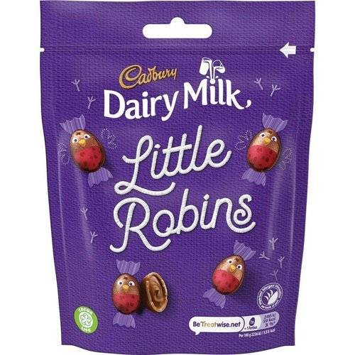 Cadbury Dairy Milk Little Robins Bag 88g