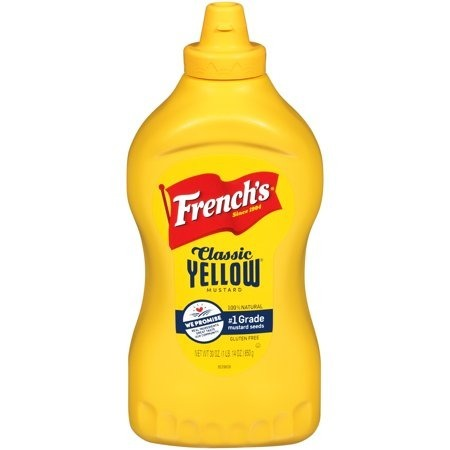 French's Classic Yellow Mustard Squeezy 397g