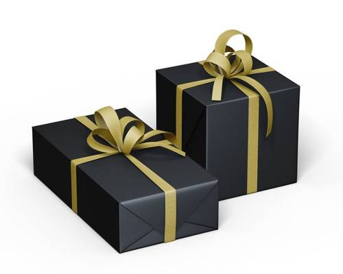 Gift Pack - Black & Gold
