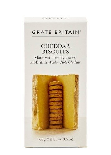 Grate Britain Cheddar Biscuits 100g