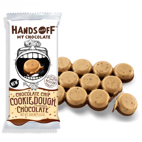 Hands Off My Chocolate Chocolate Chip Cookie Dough Chocolate 100g