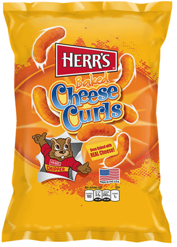 Herr's Baked Cheese Curls 198g