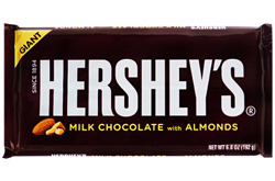 Hershey's Milk Chocolate with Almonds GIANT