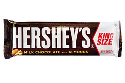 Hershey's Milk Chocolate with Almonds King Size