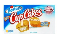 Hostess Orange Cup Cakes (8)