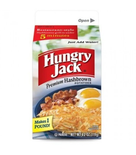 Hungry Jack Hash Brown Mix 119g
