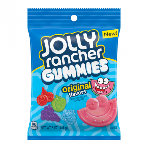 Jolly Rancher Gummies Peg Bag 142g