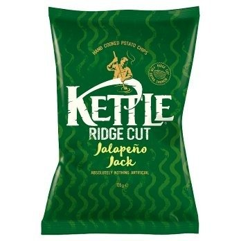 KETTLE® Ridge Cut Jalapeño Jack 135g