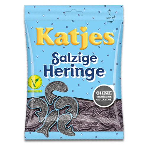 Katjes Salty Herring 200g