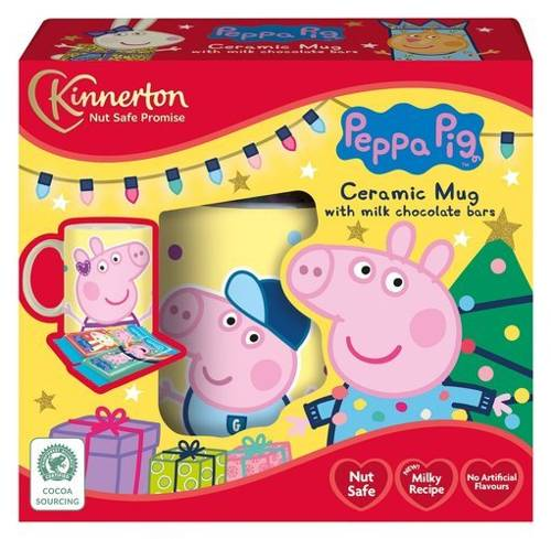 Kinnerton Peppa Pig Mug and Chocolate Presell 24g