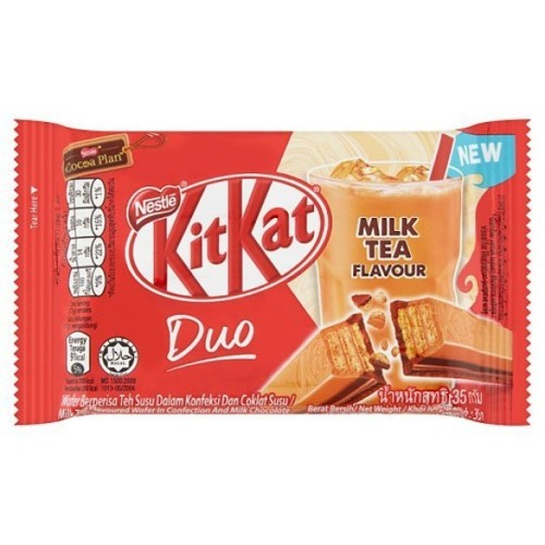 Kit Kat Green Duo Milk Tea (Malezja)