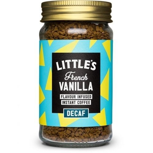 Little's French Vanilla Flavour Infused Decaf Instant Coffee 50g