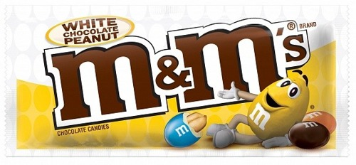 M&M's White Chocolate Peanut 38,6