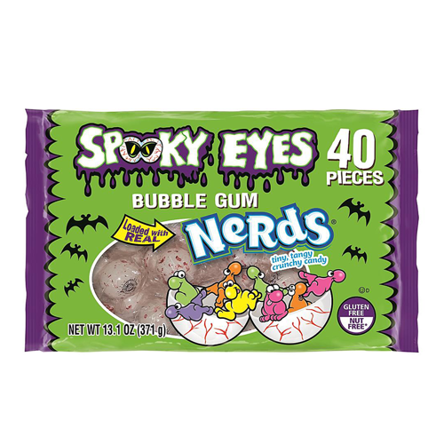 Nerds Spooky Eyes Bubble Gum 284g