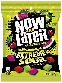 Now & Later Extreme Sour 113g