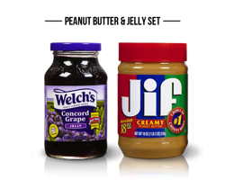 Peanut Butter & Jelly Set -10%