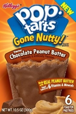 Pop Tarts Gone Nutty! Chocolate Peanut Butter