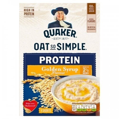 Quaker Oat So Simple Protein Original
