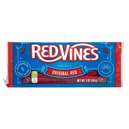 Red Vines Original Red Twists Christmas 142g