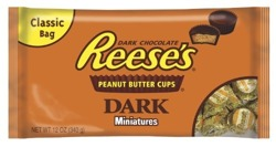 Reese's Dark Chocolate Peanut Butter Cup Miniatures 340g