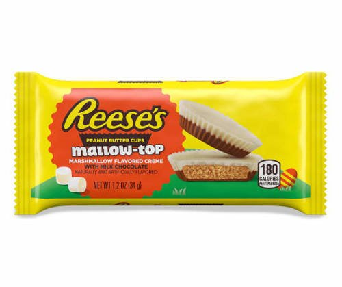 Reese's Peanut Butter Cups Mallow-Top 34g