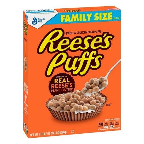 Reese's Puffs Family Size 586g