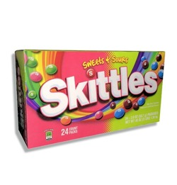 Skittles Sweet & Sour Box
