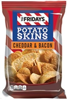TGI Friday's Cheddar & Bacon Potato Skins 113,6g