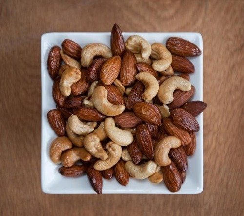 The Real Smoked Nut Company Hickory Smoked Almonds And Cashews 100g