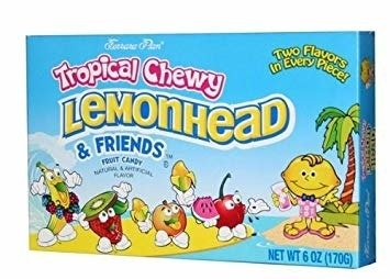 Tropical Chewy Lemonhead and Friends 170g