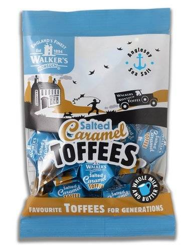 Walker's Nonsuch Salted Caramel Toffees 150g