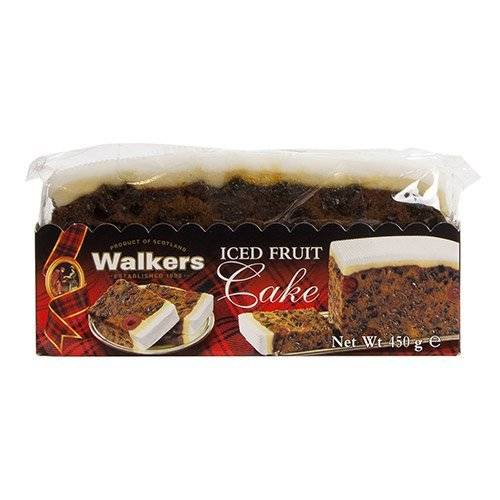 Walkers Shortbread Iced Fruit Cake 454g