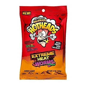 Warheads Extreme Heat Worms 141g