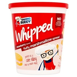 Whipped Strawberry Marshmallow Spread