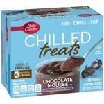 Betty Crocker Chilled Treats Chocolate Mousse Mix 4 Pouches 252g